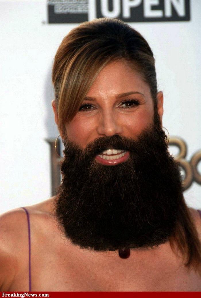 Сделать, смешные картинки бородатых женщин