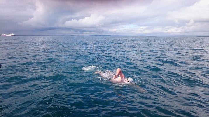 открытая вода, переплыть океан