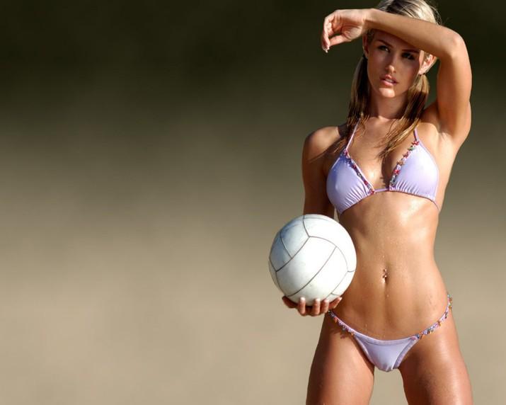 Девушки с грудью в волейболе фото 495-553