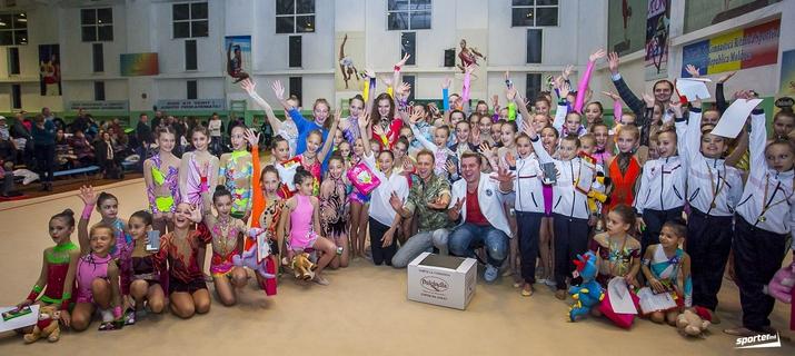художественная гимнастика, открытый чемпионат кишинева