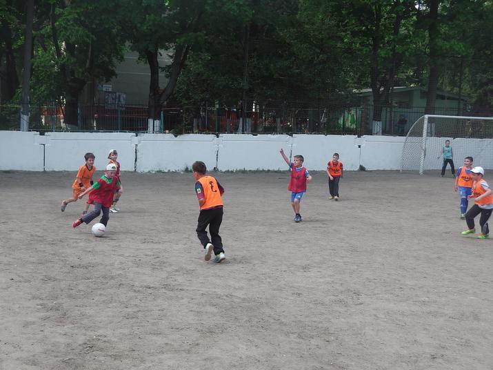 детская школа футбола