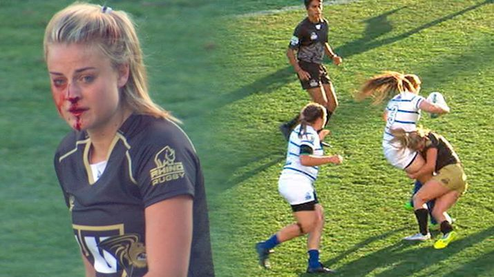photo of girls playing rugby № 17810