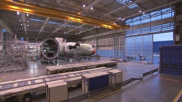 cum se asambleaza cele mai mari, avioane mari