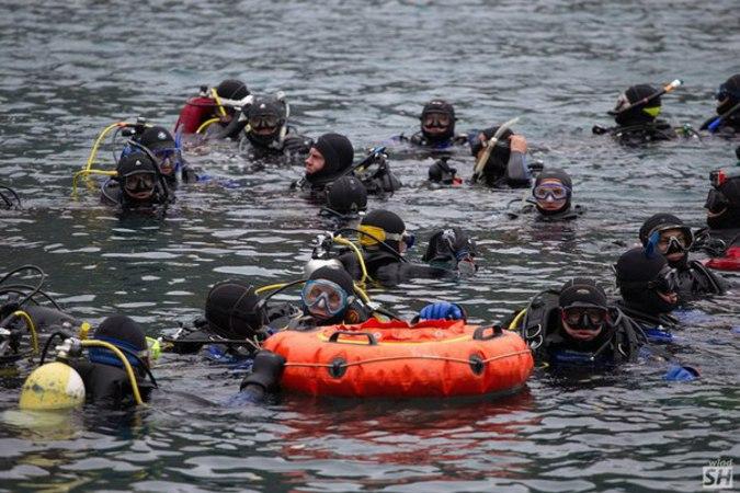 аквалангисты, рекорды россии и мира