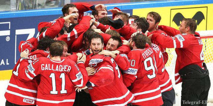 чемпионат мира по хоккею, канада