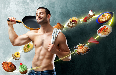 мышечная масса, питание