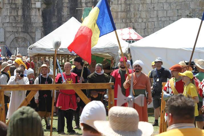moldova medieval battle team, moldavian knights