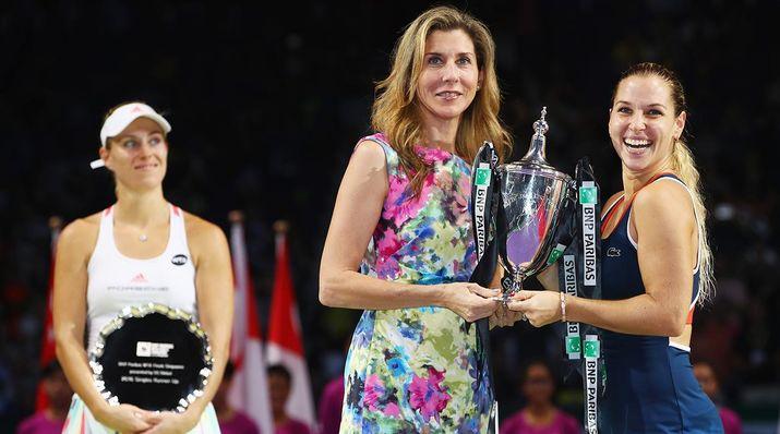 доминика цибулкова, женский турнир в сингапуре
