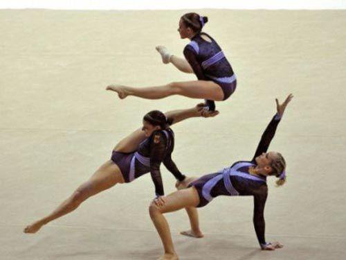 акробатика, соревнования по акробатике