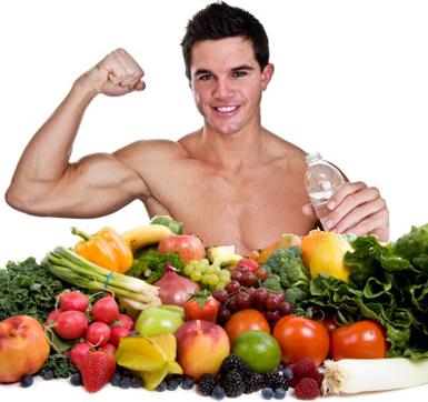 продукты, повышение мышечной массы