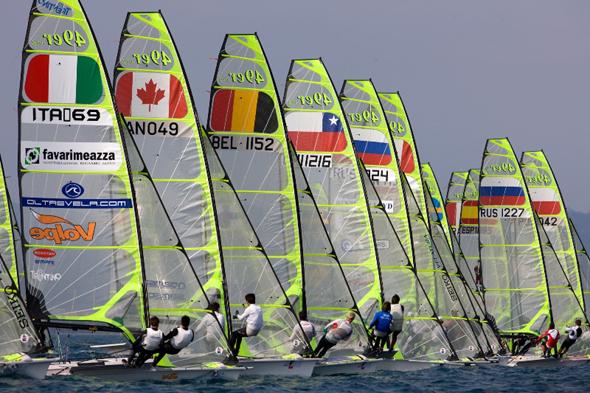 isaf sailing world cup, кубок мира