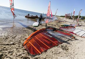 лагерь серфингистов, серфинг