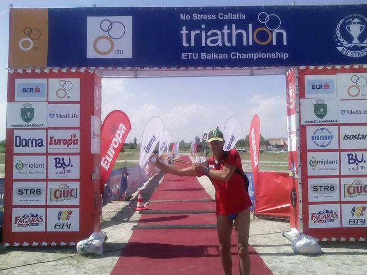 sporter, triathlon