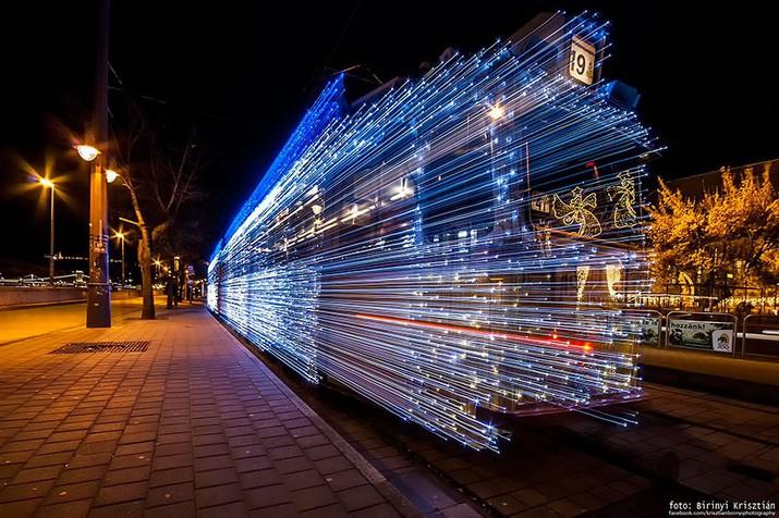 трамвай, будапешт