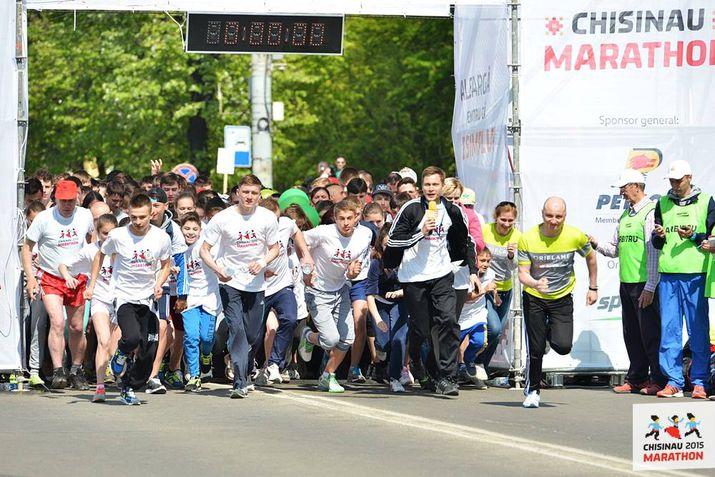 maraton international, maraton chisinau