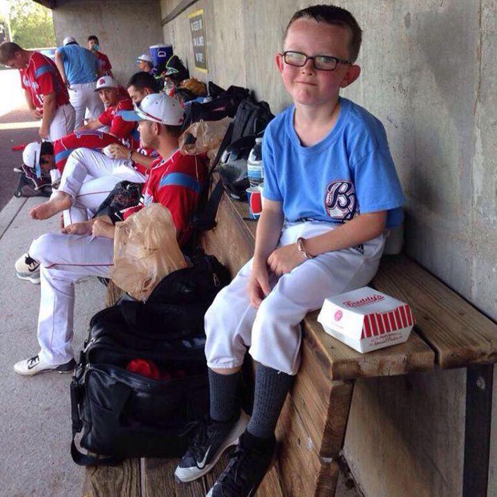 юный бейсболист, смерть