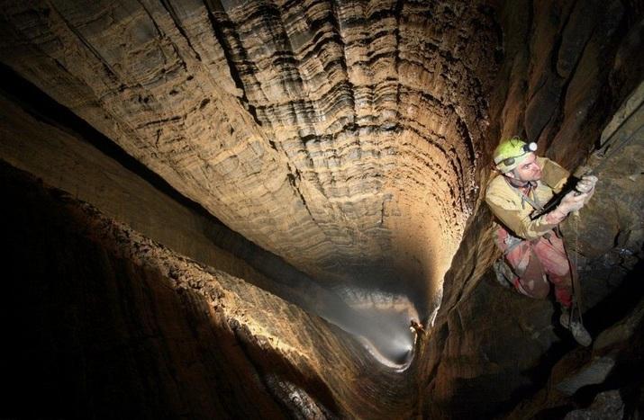 самая глубокая пещера, грузия