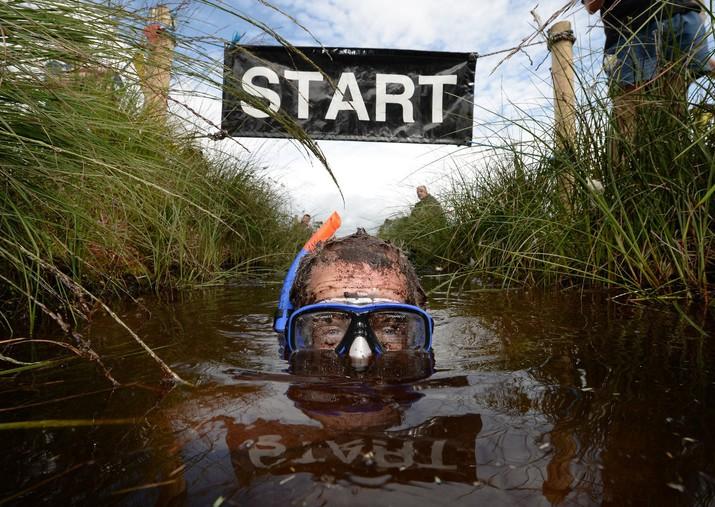 заплыв, болотный заплыв