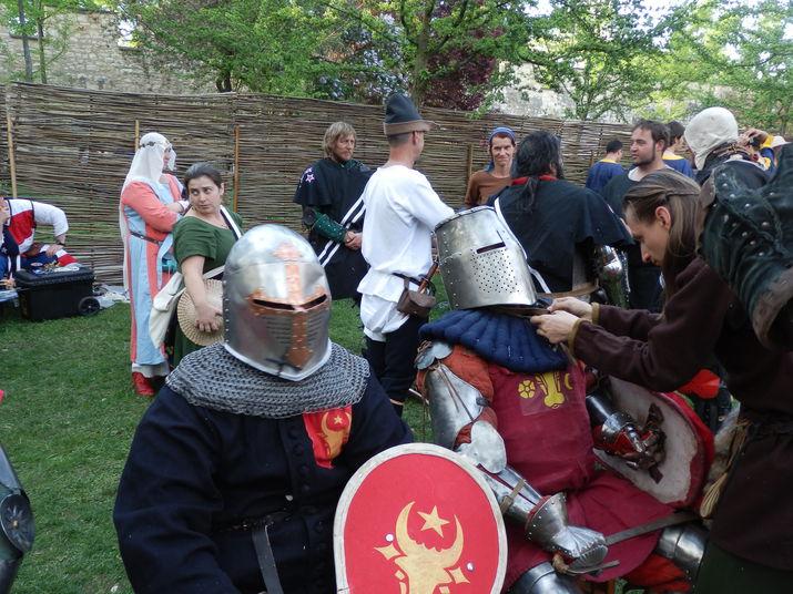 битва наций, исторический средневековый бой