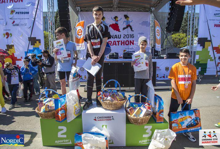 kids run day by nordic, кишиневский марафон