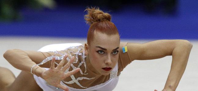 украинская гимнастка, наталья годунко