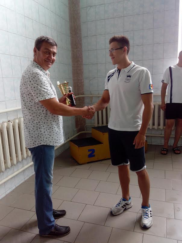 чемпионат молдовы по плаванию, алексей саньков