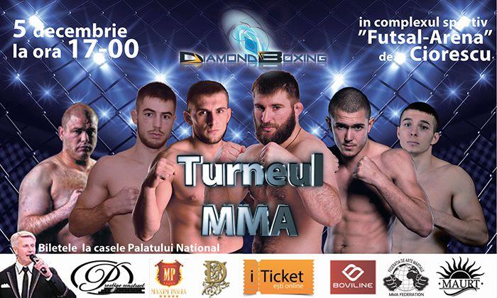 turneul mma, turneul diamond boxing 2015