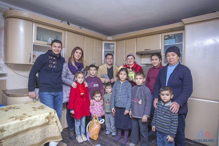 благотворительная акция, многодетная семья