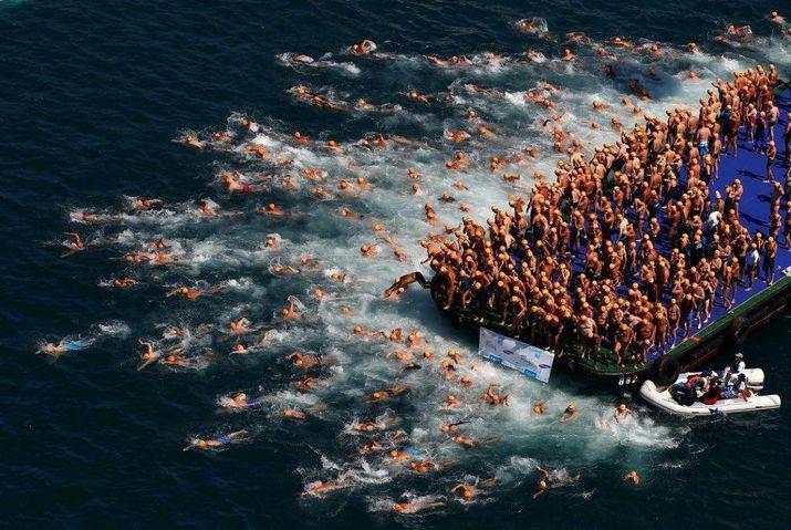 заплыв, открытая вода