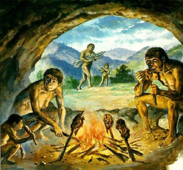 Рисунки пещер древних людей