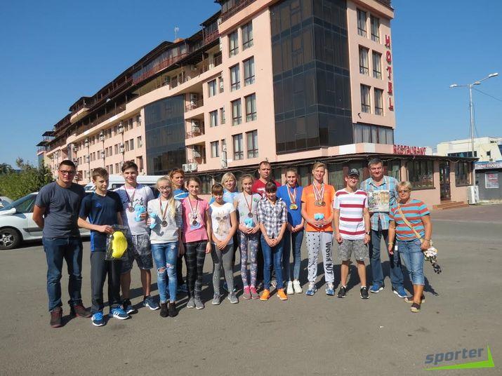 молдавские пловцы
