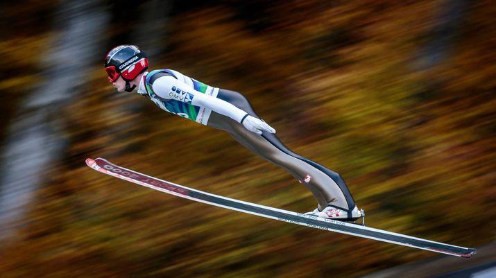 лукас мюллер, летающий лыжник