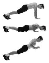 отжимания, силовые упражнения