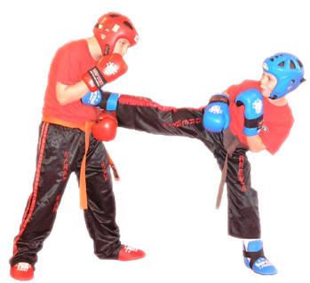кикбоксинг, тренировки