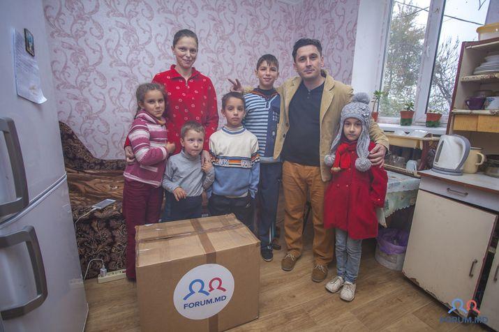 благотворительность, многодетная семья