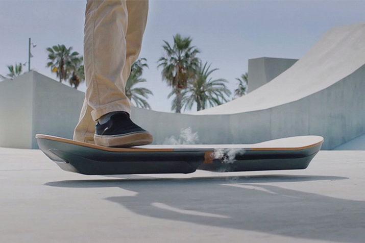 летающий скейборд, скейборд lexus