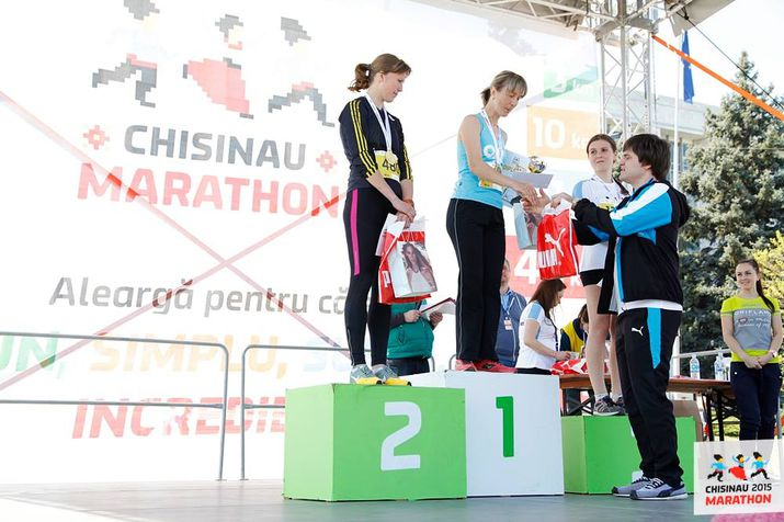 maraton chisinau, primul