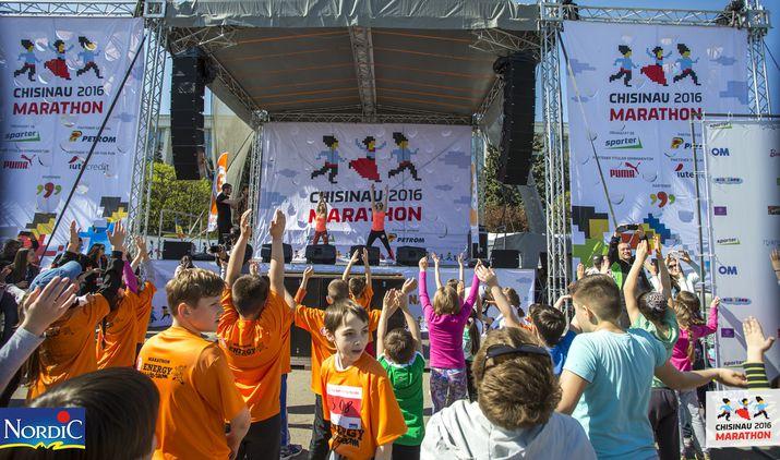 кишиневский марафон, kids run day by nordic