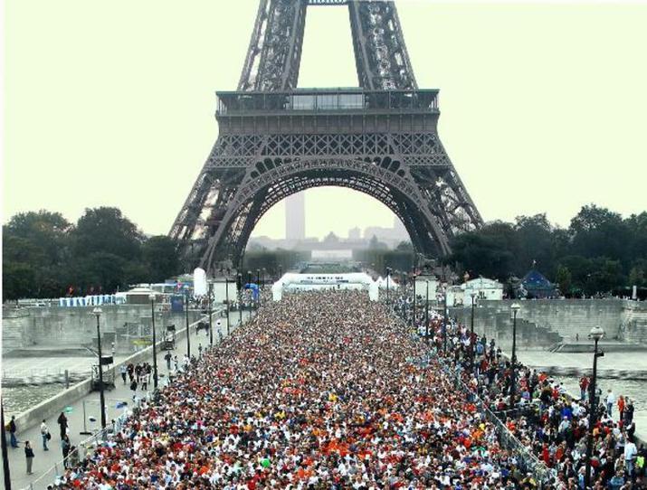 париж, марафон
