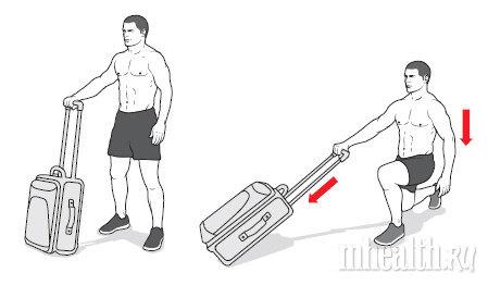 упражнения, набор массы