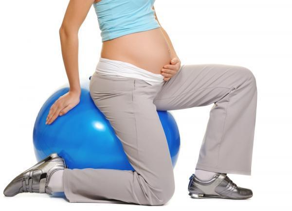 беременность, упражнения