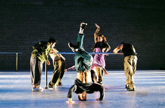 хипхоп, хореография