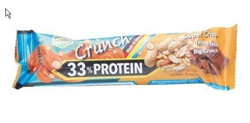 купить ZK 33 % Protein Crunch Bar Peanut Butter-Caramel Flavour 50 g в Кишинёве