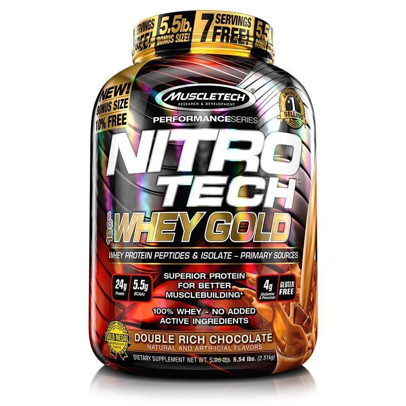 cumpără Nitro Tech Whey Gold 2490 Gr în Chișinău