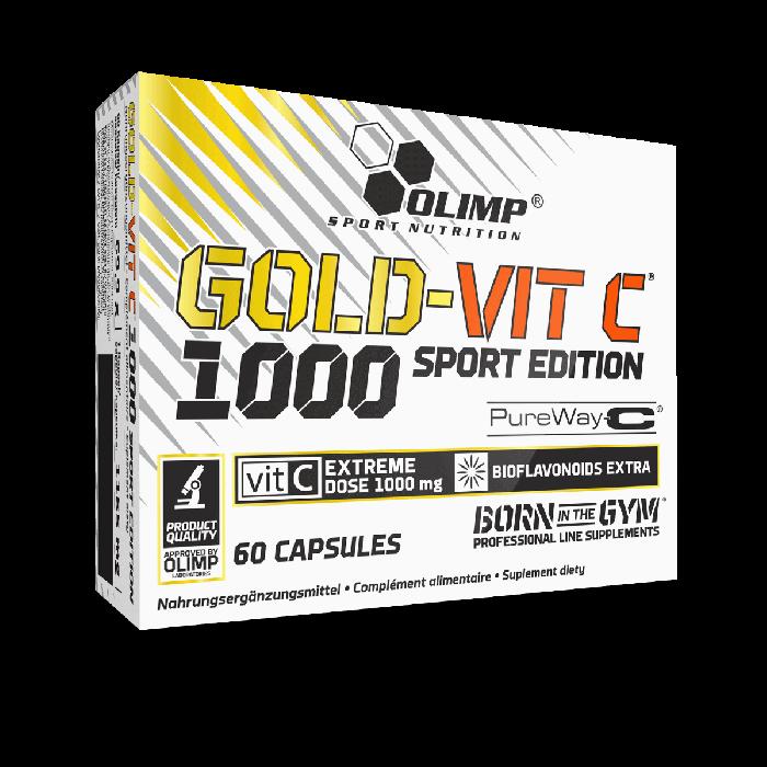 cumpără GOLD-VIT C 1000 SPORT EDITION 60 CAPS în Chișinău