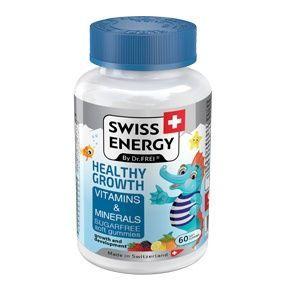 cumpără Swiss Energy HEALTHY GROWTH, jeleuri gumate, N60 în Chișinău
