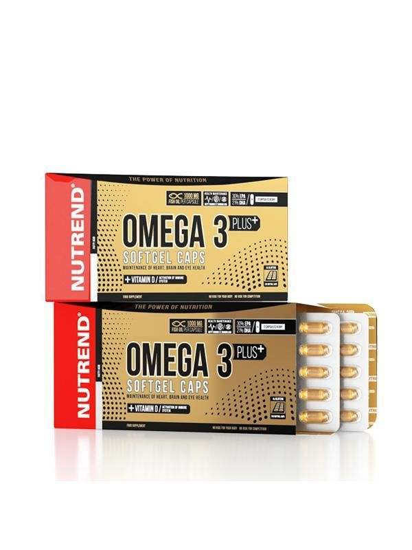 купить OMEGA 3 PLUS SOFTGEL CAPS, 120caps в Кишинёве
