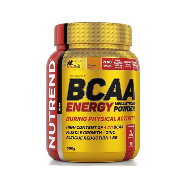 купить BCAA ENERGY MEGA STRONG POWDER 500g в Кишинёве