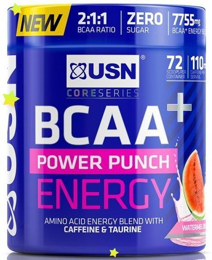 купить USN BCAA Power Punch Energy Orange Watermelon в Кишинёве