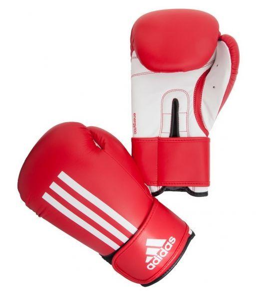 купить BOXING GLOVES ENERGY 100 ADIEBG100 RED/WHITE 10oz в Кишинёве